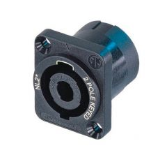 NL2MP 2 pole chassis connector