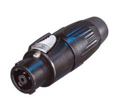 NLT8FX-BAG 8 pole female cable black