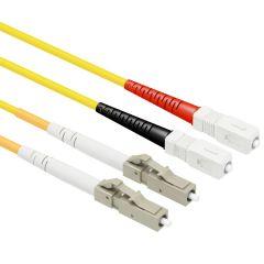 OS1 LC/SC Singlemode 9/125 Duplex Patch Cables
