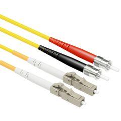 OS1 LC/ST Singlemode 9/125 Duplex Patch Cables