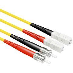 OS1 ST/SC Singlemode 9/125 Duplex Patch Cables