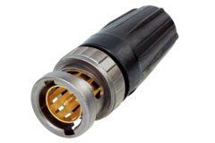 RearTWIST UHD BNC connector - NBNC75BDD6X