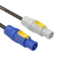 Powercon input/output 2m